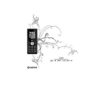Jax Guia Del Usuario (Kyocera S1300 Phone) Kyocera