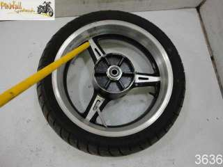 02 Yamaha Warrior XV1700 1700 Road Star 20MM REAR WHEEL RIM
