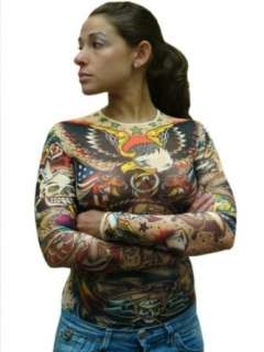 Womens Full Body Traditional Sailor Tattoo Shirt