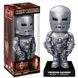 Iron Man Mark 1 Armor Funko Wacky Wobbler Bobble Head Toys & Games
