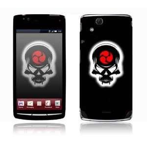 Sony Ericsson Xperia Acro Decal Skin   Samurai Death Skull