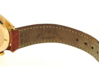 Mens Vintage Solid 18K Rose Gold BREITLING PREMIER Mech. Chronograph
