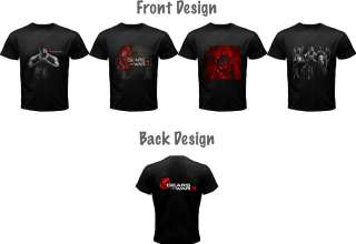 Gears Of Wars 3 XBOX 360 Games T Shirt, Great 4 Assorted Design