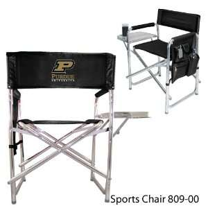 Chair Aluminum chair w/fold out table, insul. drink holder, & pockets
