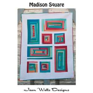 Madison Square Quilt Pattern By Jean Wells for Stitchin