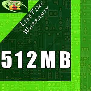 512MB 2x 256MB PC100 RAM Memory for DELL LATITUDE C600