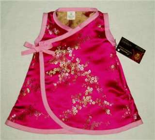 Girls Dress on New Cherry Blossoms Infant Baby Girl Dress Kid Clothes