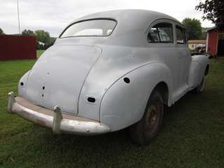 1946 Chevy 2 Dr. sedan hot rod rat rod street