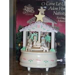 Precious Moments Collection Figurine O Come Let Us Adore Him Nativity
