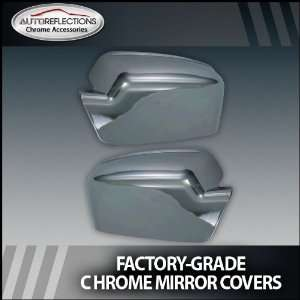 2006 2012 Ford Fusion Chrome Mirror Covers (Full