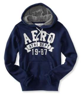 mens AERO Athl Dept 19 87 hooded sweatshirt   Style # 3444