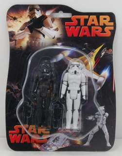 New Star wars Action Figure Lucasfilm Black & White in box Gift 3.75