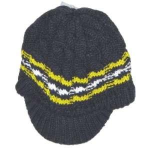 NCAA Adidas Billed Sweater Knit Beanie Hat