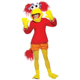 Fraggle Rock Red Womens Halloween Costume