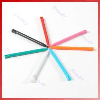 10 Pcs Plastic Colors Touch Stylus Pen for Nintendo 3DS