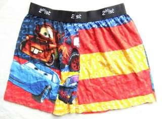 Boys Boxer Shorts Underwear Disney Pixar CARS Mater McQueen Hudson