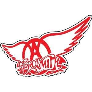Aerosmith Wings Rock Band Music Car Bumper Sticker Decal 5