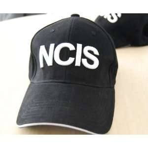 Embroidered NCIS Black Baseball Cap Hat New Toys & Games