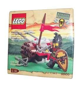 Lego Castle Knights Kingdom I Axe Cart 4806