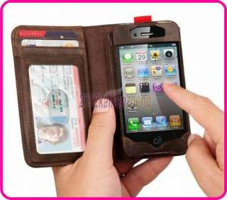 5x Wholesales Twelve South BookBook Wallet Leather Case for iPhone 4