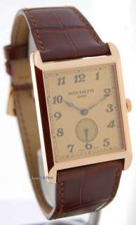 Patek Philippe Mens 5109R 18k Rose Gold Gondolo 5109
