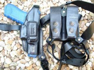 LEATHER SHOULDER HOLSTER for SPRINGFIELD M1911 A1