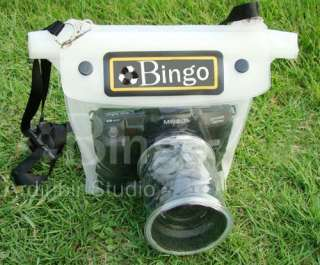 Underwater Waterproof Housing Case for Canon 550D,400D