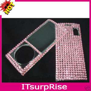 BLING Diamond Crystal Pink Hard Case for Ipod Nano 5 5G