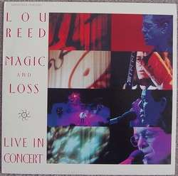 LOU REED Magic and Loss Live in Concert 1992 Laserdisc