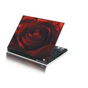 Laptop Skin Notebook Sticker Cover H261 Red Rose Decal