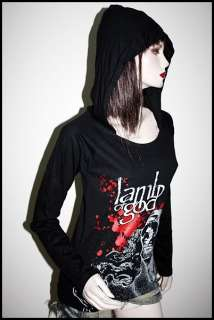 Lamb Of God Punk Metal Rock DIY Light Weight Hoodie Top