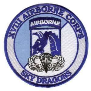 18th Airborne Corps Patch with Jump Wings: Everything Else