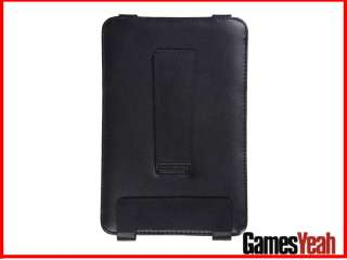 Leather Magnetic Case Cover Stand F  Kindle Keyboard 3G WiF