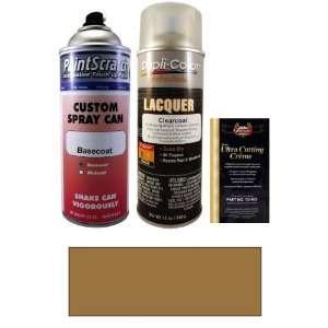 12.5 Oz. Dark Sandstone Metallic Spray Can Paint Kit for