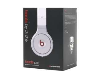 Beats By dr.dre Professional Around Ear Stereo Headphone (white