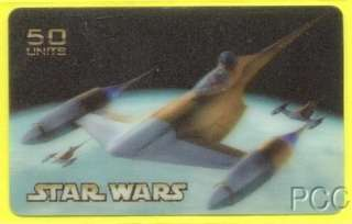 STAR WARS 2000 Lenticular San Marino Phone Card (6)
