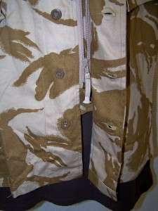 British Military /Army Surplus Men Combat Vest Jacket 170/96 Desert