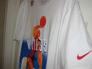 Nike Lebron James Epic T Shirt Shirt Witness Miami Heat Basketball