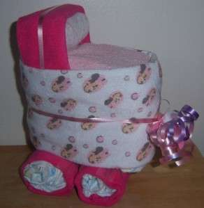 Mouse, Minnie, or Pluto Mini Diaper Bassinet, Baby Shower Favor