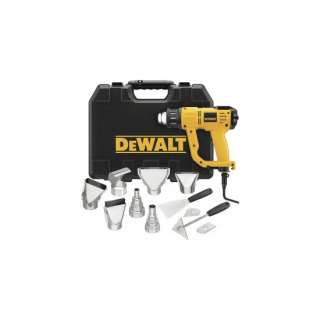 DeWALT D26960K Adjustable 1550W Heat Gun Kit with LCD Display