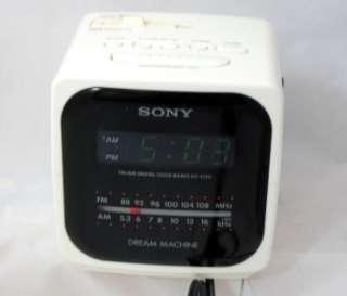 SONY DREAM MACHINE ICF C414 AUTO TIME SET ALARM CLOCK RADIO