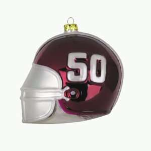 BSS   Alabama Crimson Tide NCAA Glass Football Helmet