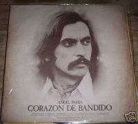 ANGEL PARRA corazon bandido RARE CHILE FOLK PROTEST LP