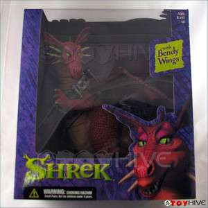 Shrek Dragon with Bendy Wings McFarlane Toys worn box