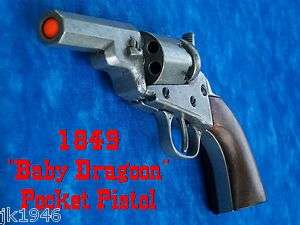Replica Gun Wells Fargo Pocket Pistol Baby Dragoon Gray