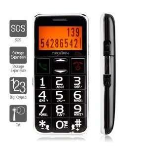 Senior Citizen   1.8 Inch Bar Phone (FM MP3 Player): Cell Phones