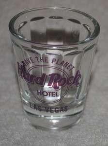 Hard Rock Hotel, Las Vegas, shot glass