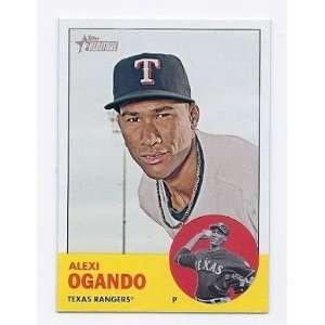2012 Topps Heritage #303 Alexi Ogando Texas Rangers