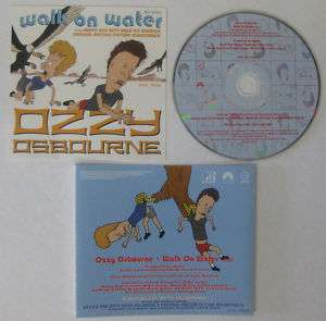 OZZY OSBOURNE Walk On Water Promo Only CD Black Sabbath