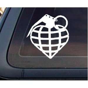 Heart Hand Grenade Car Decal / Sticker Automotive